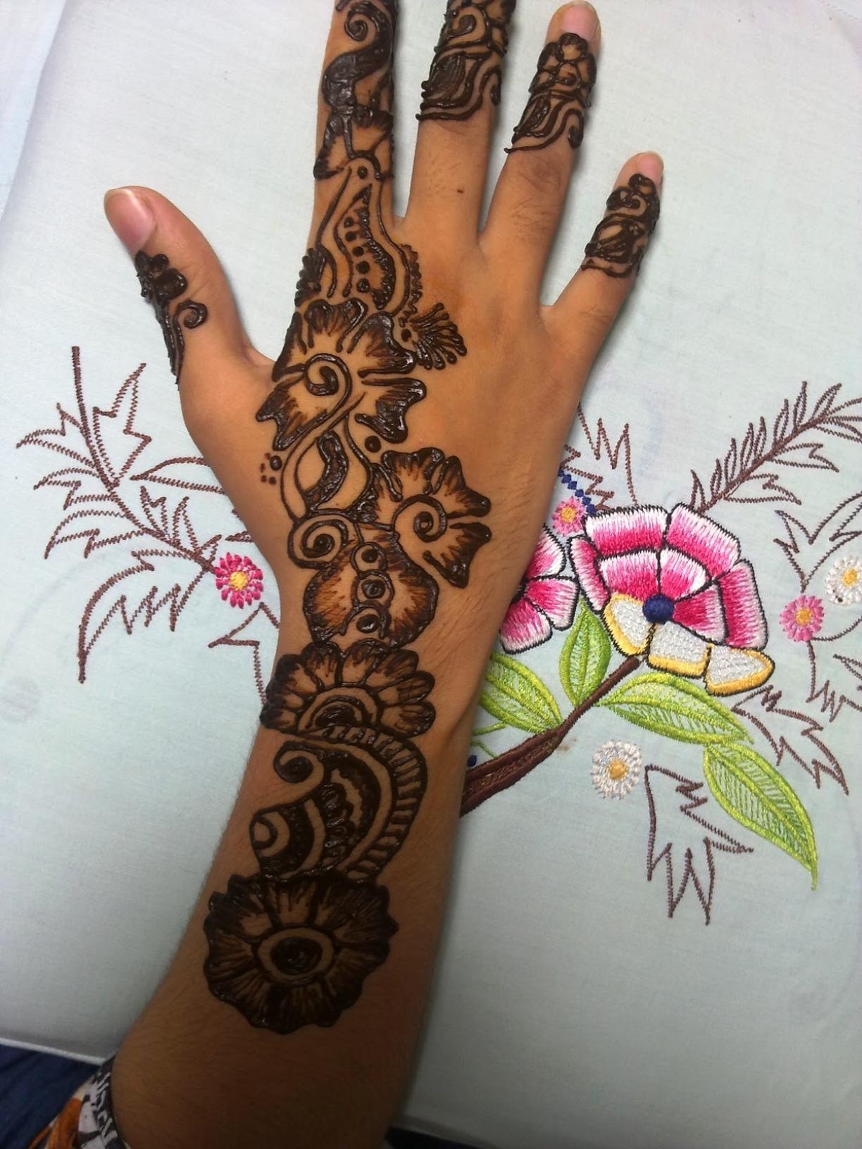Old bridal arabic mehndi designs for hands images