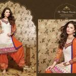 New Indian punjabi patiala shalwar suits for Girls (5)