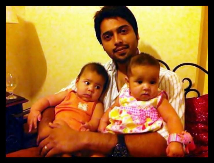 Fahad Mustafa with kids