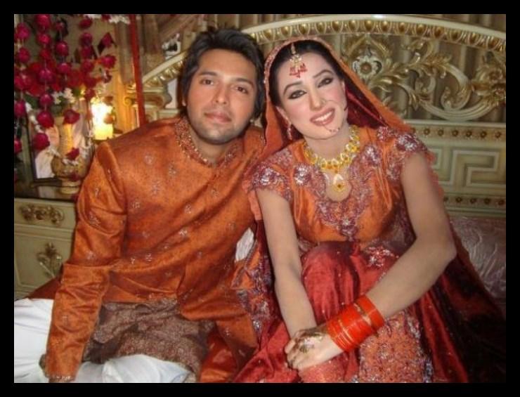 Fahad Mustafa wedding pictures