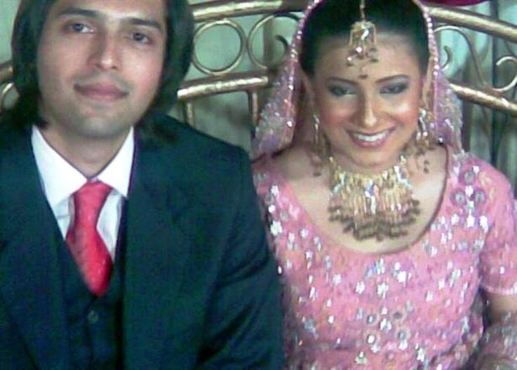 wedding pics of fahad mustafa & Wife