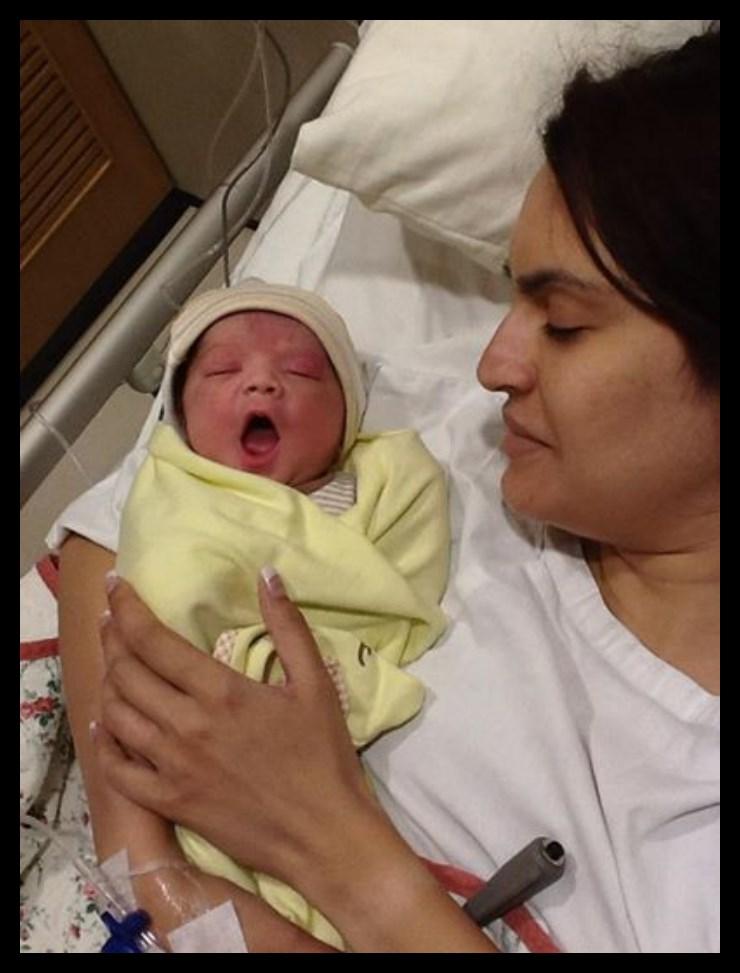 Nadia Hussain in Hospital