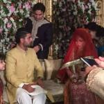 Ahmad Shahzad wedding single pHoto