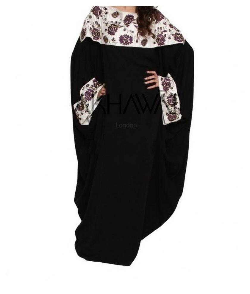 Black Abaya on Fr Women