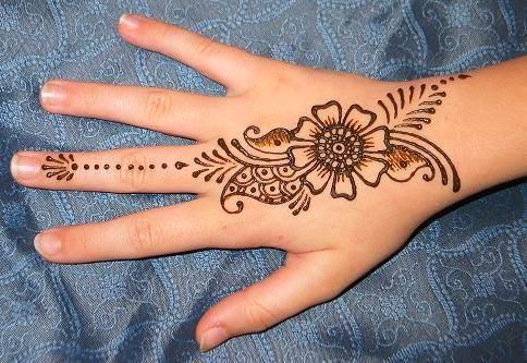New Arabic Mehndi Designs easy Making