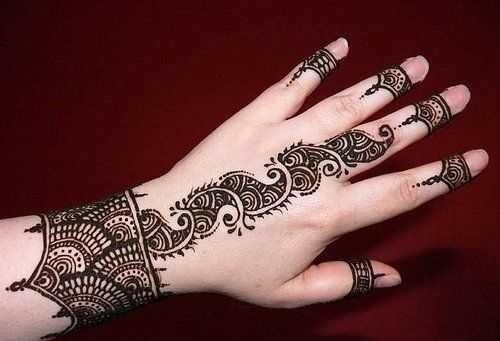 Download Arabic Mehndi Designs