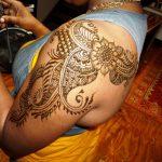 Girls arabic henna mehndi design indian in India