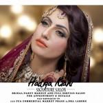 Pakistani Bridal Mehndi Makeup Ideas 2016 by Hadiqa Kiani