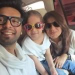 Actor Fahad Mustafa Daughter Fatima Birthday Photos