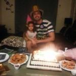 fahad mustafa daughter pics of Birthday