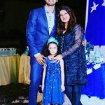 Fahad mustafa with his cute daughter Fatima