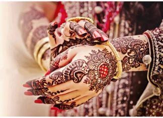 bridal mehndi design images