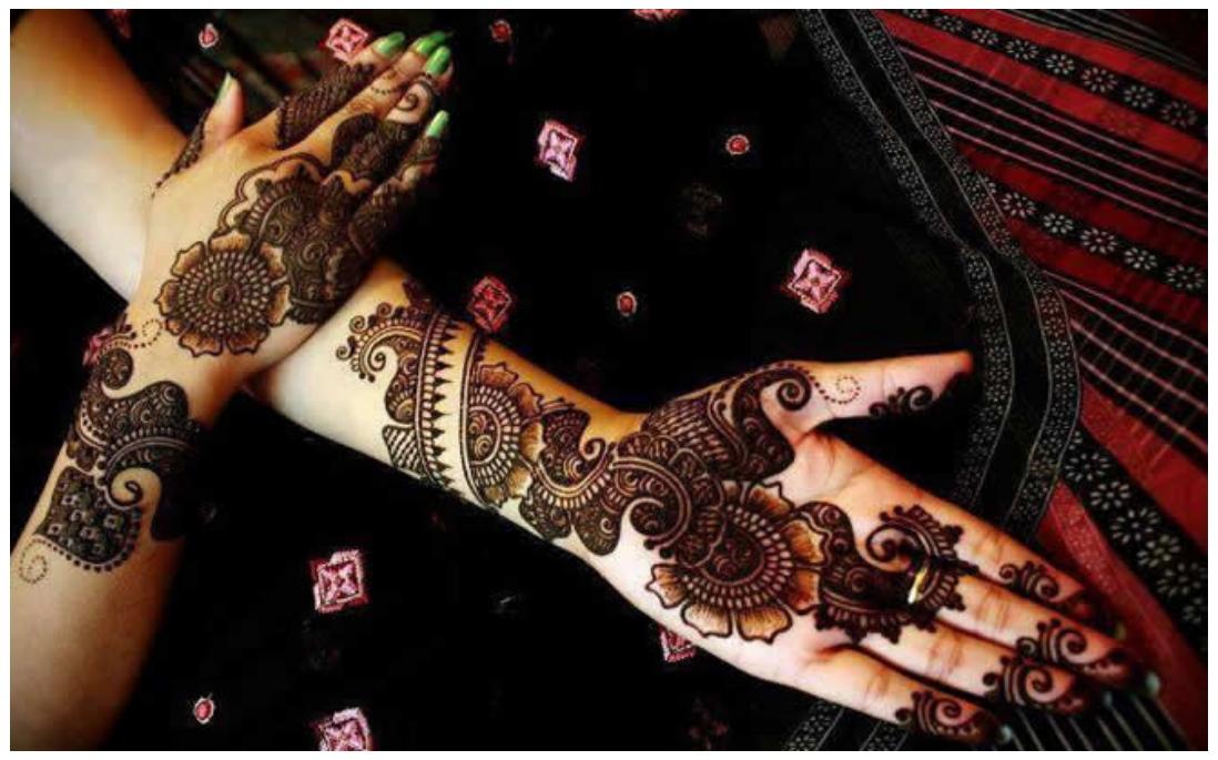 bridal mehndi images