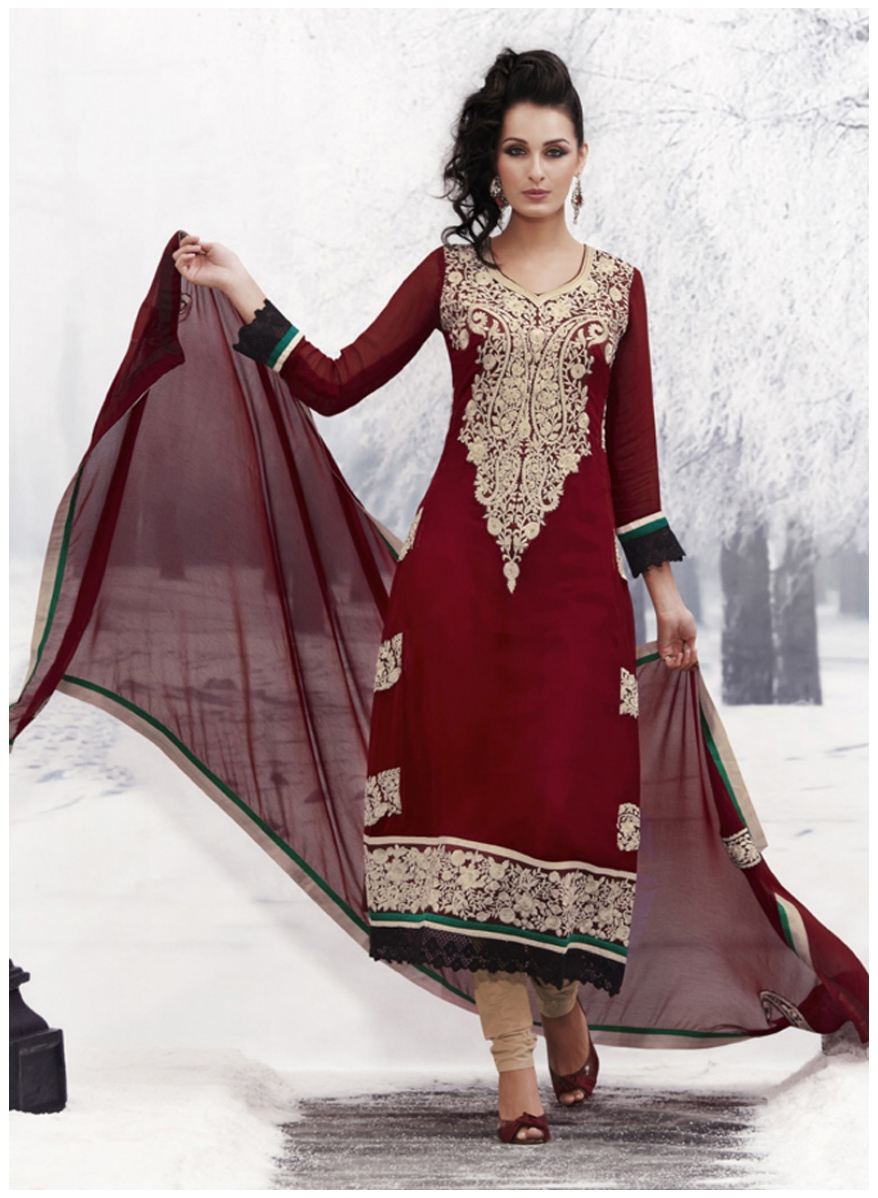 Decent Punjabi Dresses 20168