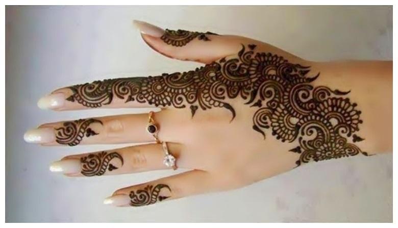 Stylish Party Latest Mehndi Designs