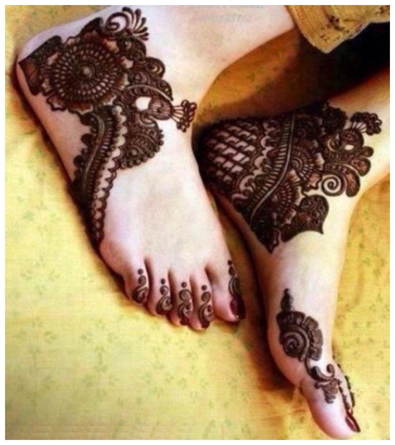 Latest Mehndi henna Designs for Eid ul adha
