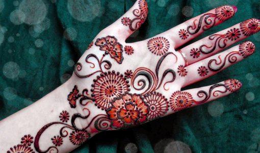 Full Hand Floral Mehndi (Henna) Design