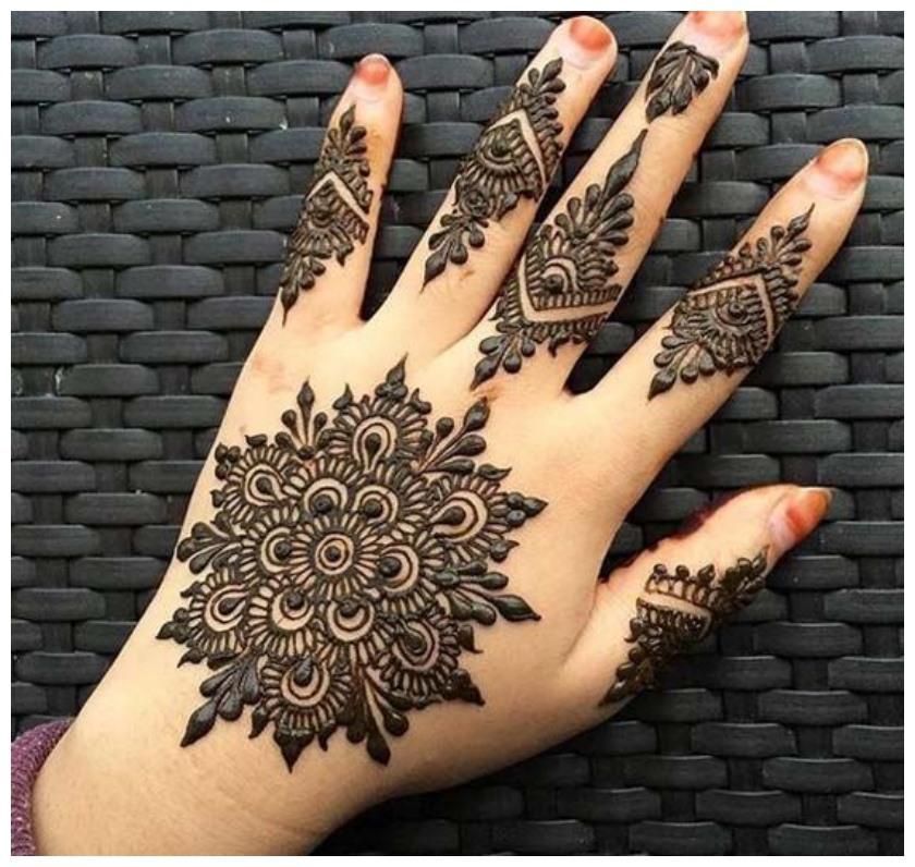 New Dilkash Mehndi Designs 2018