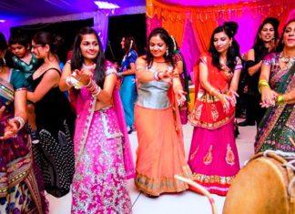 Mehndi Ceremony wedding pre night indian festival features