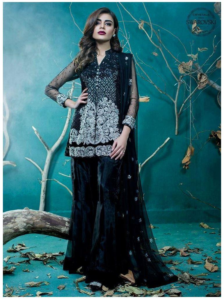 Zainab Chottani Black-rouge Beautiful dresses